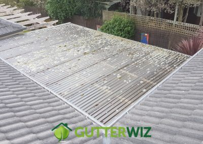 Polycarb Roof Clean Before